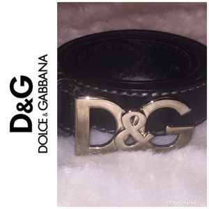 "100% Authentic Dolce & Gabbana Belt. 32""Size:Small"